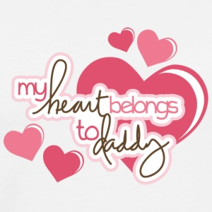 My heart belongs to my daddy - Men's Premium T-Shirt