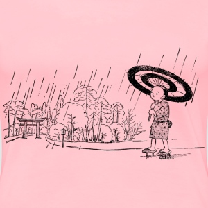 Umbrella Boy Shrine - Women's Premium T-Shirt