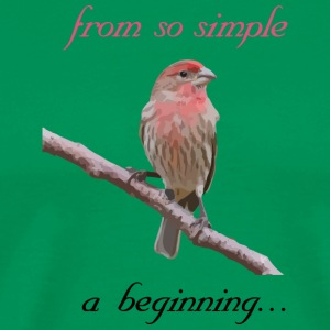 From so simple a beginning... - Men's Premium T-Shirt