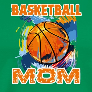 Basketball Mom Tees Shirt - Men's Premium T-Shirt