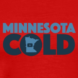 Minnesota Cold Logo - Men's Premium T-Shirt