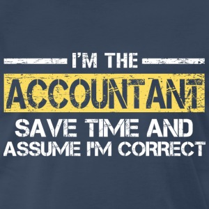 Accountant T-Shirts - Men's Premium T-Shirt