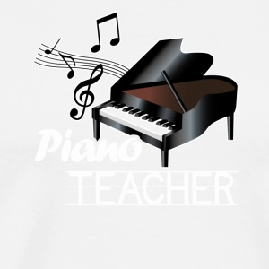 Piano Teacher Tee Shirts - Men's Premium T-Shirt