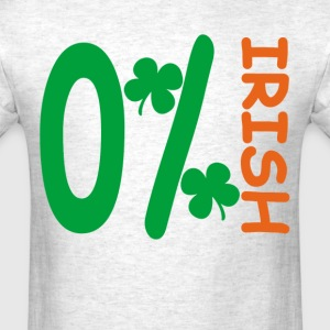 zero_percent_irish_ - Men's T-Shirt