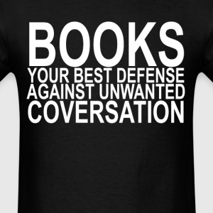 book_defense_ - Men's T-Shirt