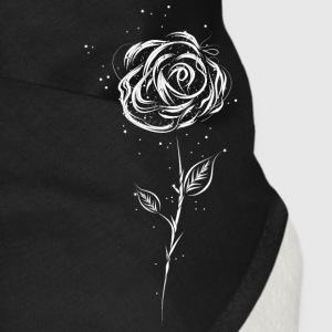 Drawing of a white rose Other - Dog Bandana