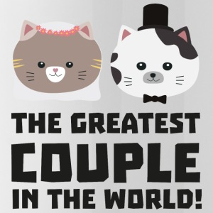 Greatest Cat Couple in the world Ud2n1 Sportswear - Water Bottle