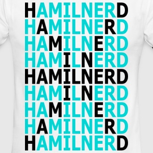 HAMIL NERD T-Shirts - Men's Ringer T-Shirt