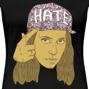 h3h3production hate hat T-Shirts - Women's Premium T-Shirt