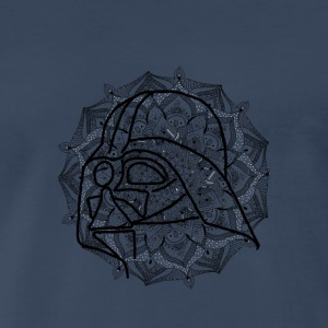 Darth Vader in mandala - Men's Premium T-Shirt