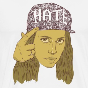 h3h3production hate hat T-Shirts - Men's Premium T-Shirt