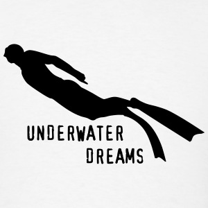 freediving - Underwater dreams - Men's T-Shirt