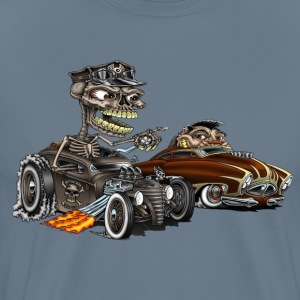 Monster Drags Car-Toon - Men's Premium T-Shirt