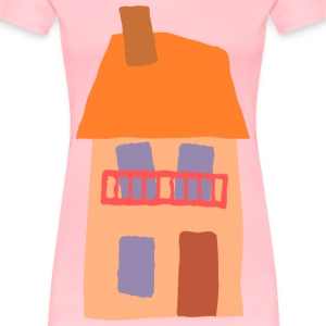 Crooked house 06 - Women's Premium T-Shirt