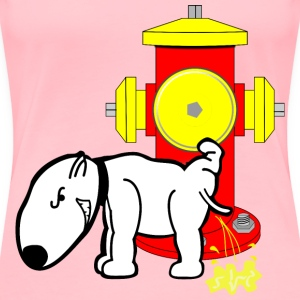 Hydrant   Dog - Women's Premium T-Shirt