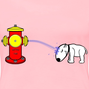 The Hydrant finally had enough of Mr. Dog - Women's Premium T-Shirt