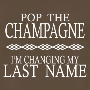 POP THE CHAMPAGNE STAG NIGHT HEN NIGHT - Men's Premium T-Shirt