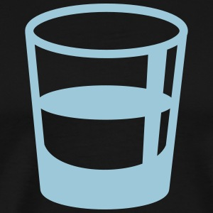 glass shot - Men's Premium T-Shirt