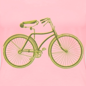 Vintage bicycle 04 Blur - Women's Premium T-Shirt