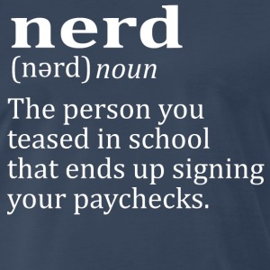 Nerd Definition T-Shirts - Men's Premium T-Shirt