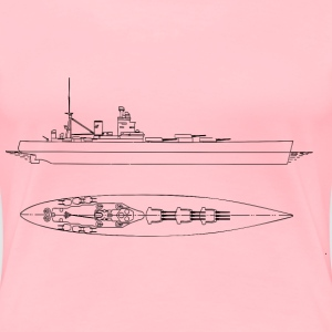 British Battleships Nelson And Rodney - Women's Premium T-Shirt