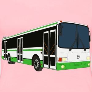 3D Bus - Women's Premium T-Shirt