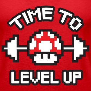 Time To Level Up Tanks - Women's Premium Tank Top