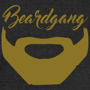 beardgang - Unisex Tri-Blend T-Shirt by American Apparel