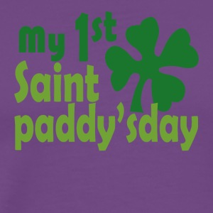 my 1st saint paddyday - Men's Premium T-Shirt