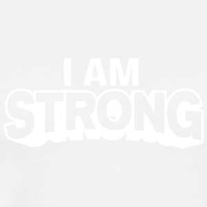 I AM Strong Affirmation T-Shirts & Clothing - Men's Premium T-Shirt