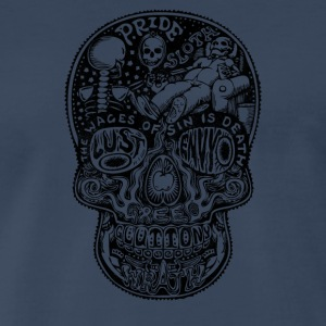 7 Deadly Skulls - Men's Premium T-Shirt