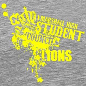 MARSHALL HIGH STUDENT COUNCIL LIONS - Men's Premium T-Shirt