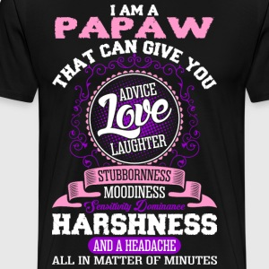 I Am A Papaw T-Shirts - Men's Premium T-Shirt