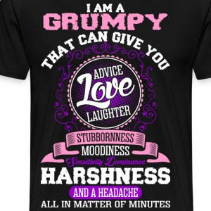 I Am A Grumpy T-Shirts - Men's Premium T-Shirt