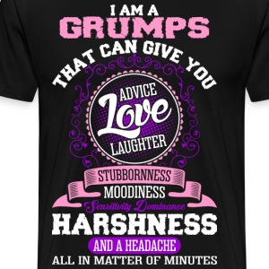 I Am A Grumps T-Shirts - Men's Premium T-Shirt