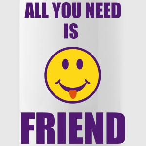 All you need is friend Sportswear - Water Bottle