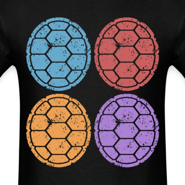 Ninja Shells T-Shirts - Men's T-Shirt