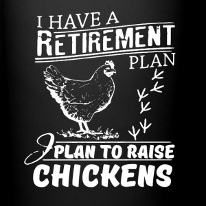 Yes, I Do Have a Retirement Plan Raising Chickens  Mugs & Drinkware - Full Color Mug