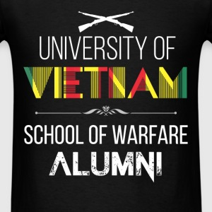 Vietnam Veteran - University of Vietnam. School of - Men's T-Shirt