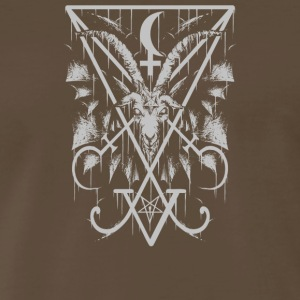 Sigil of Lucifer and Baphomet - Men's Premium T-Shirt