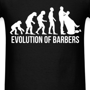 Barber - Evolution of barbers - Men's T-Shirt