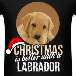 Labrador - Christmas is better with a Labrador - Men's T-Shirt