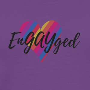 EnGAYged - Men's Premium T-Shirt