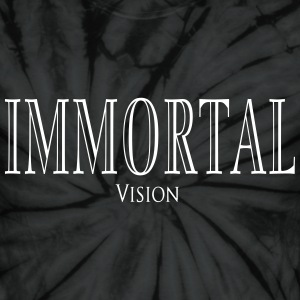 Immortal Vision Dyed - Unisex Tie Dye T-Shirt