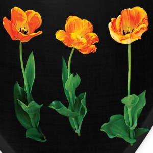 Three Tulips in a Row Caps - Bandana