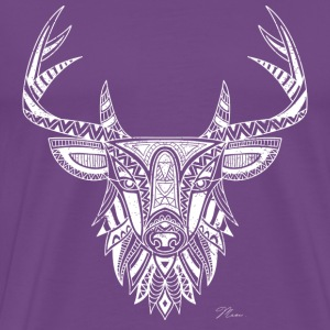 Art Deer - Vintage Look T-Shirts - Men's Premium T-Shirt