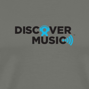 Discover Music Logo - Men's Premium T-Shirt