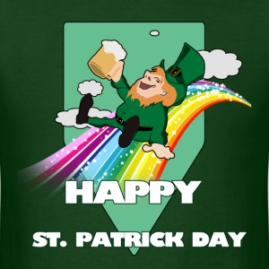 Hippy St. Paddy Day - Men's T-Shirt