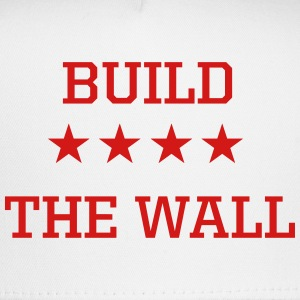 Build the Wall Red White & Royal Blue Trucker Hat - Trucker Cap