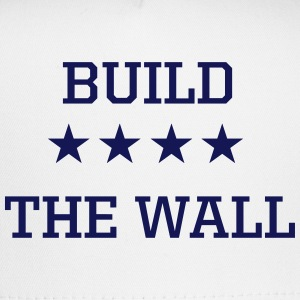 Build the Wall Navy Blue Trucker Hat - Trucker Cap